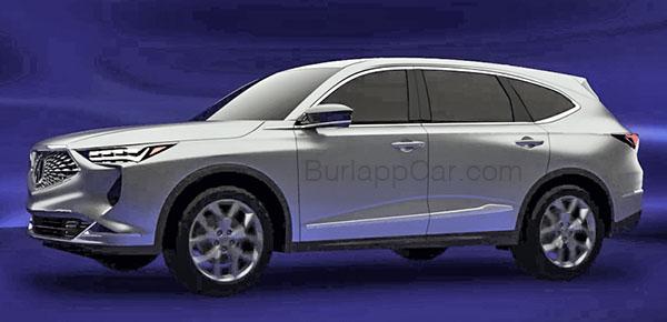 Burlappcar 2020 Acura Mdx