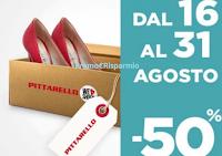 Logo Pittarello : - 50% su un paio di scarpe a tua scelta