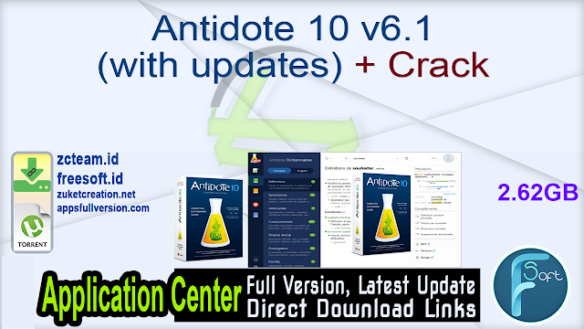 Antidote 10 v6.1 (with updates) + Crack