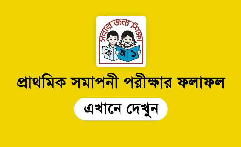 PSC Result 2019 for class 5