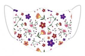 Maseczka kwiatki