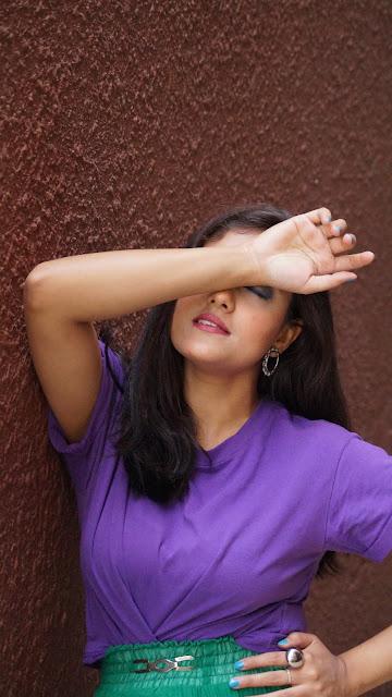 Fashion and make up blogger bangalore , priyanjana roy