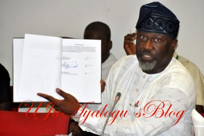Police Bans Dino Melaye From Holding Unapproved Rally In Kogi