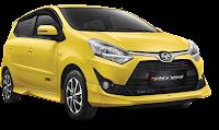 Toyota New Agya Medan kuning