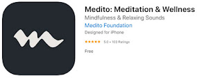 Medito App at the Apple App Store