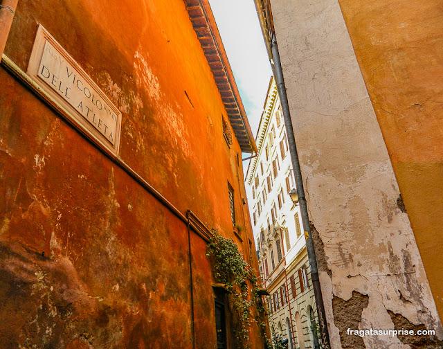 Beco no Trastevere, Roma