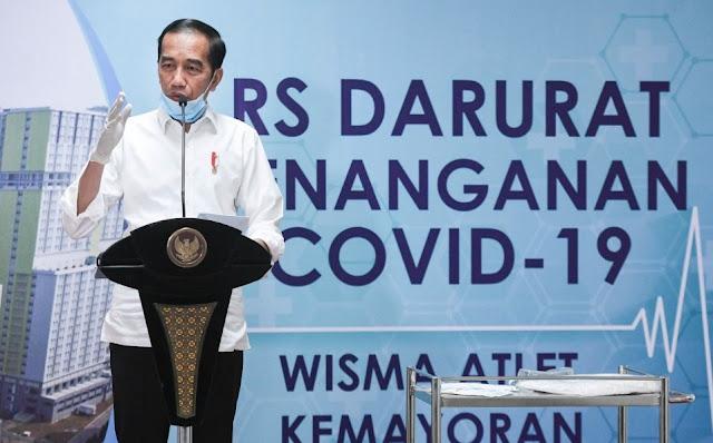 Jokowi Tegaskan 3 juta Obat Corona Klorokuin adalah Produksi Negara Kita