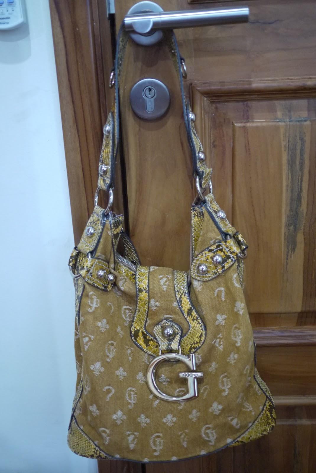 Preloved Orange Guess Handbag Adorable Muslimah S Preloved