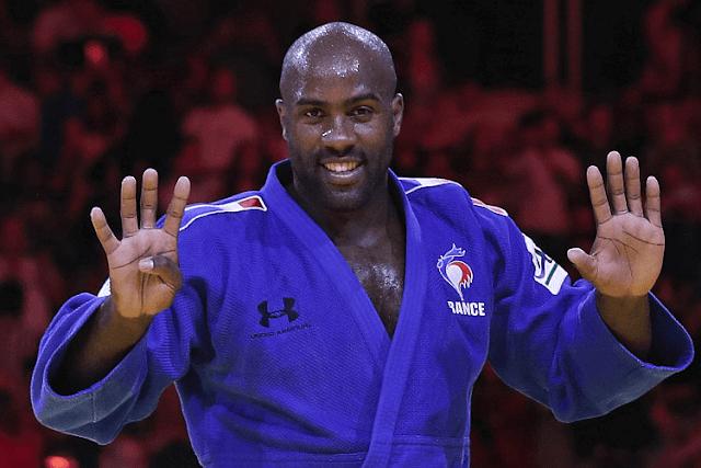 Már hiányoztak az esések a francia dzsúdósztár edzőpartnerének