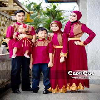 pesan baju lebaran keluarga