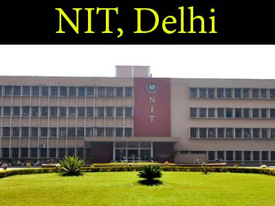 NIT, Delhi recruitment 2020
