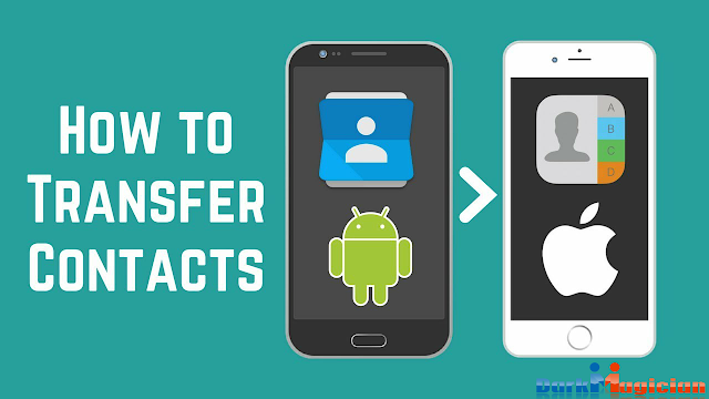 android contacts transfer to iphone