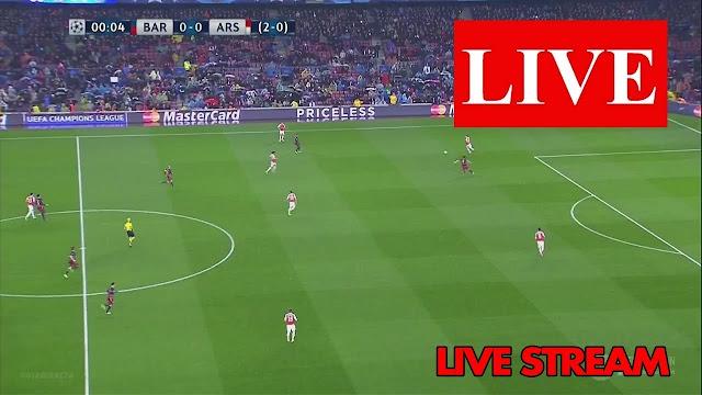 Watch Barcelona vs Arsenal Live Stream