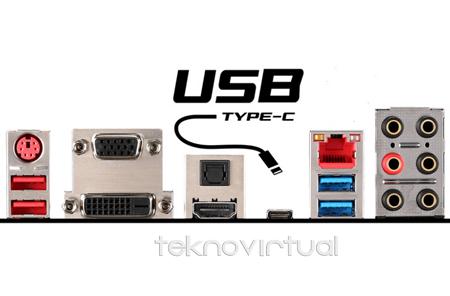 Teknologi Terbaru USB Type C