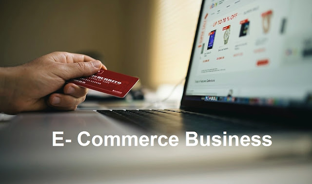What is e-commerce business