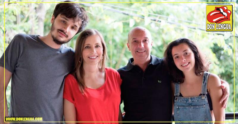 Esposa de Iván Simonovis publica su foto con su familia por fin en libertad