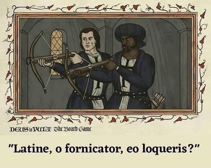Así serían los posters de películas si estas fueran libros medievales Simon de Thuillières