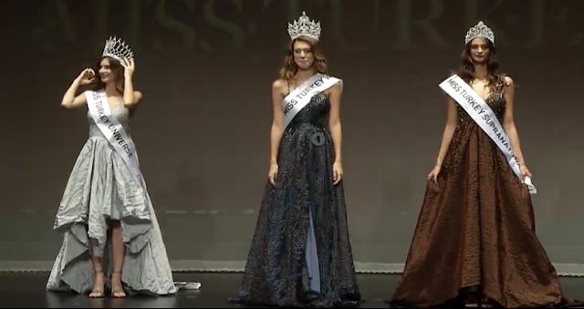 "Itır Esen a fost desemnată ""Miss Turcia 2017"""