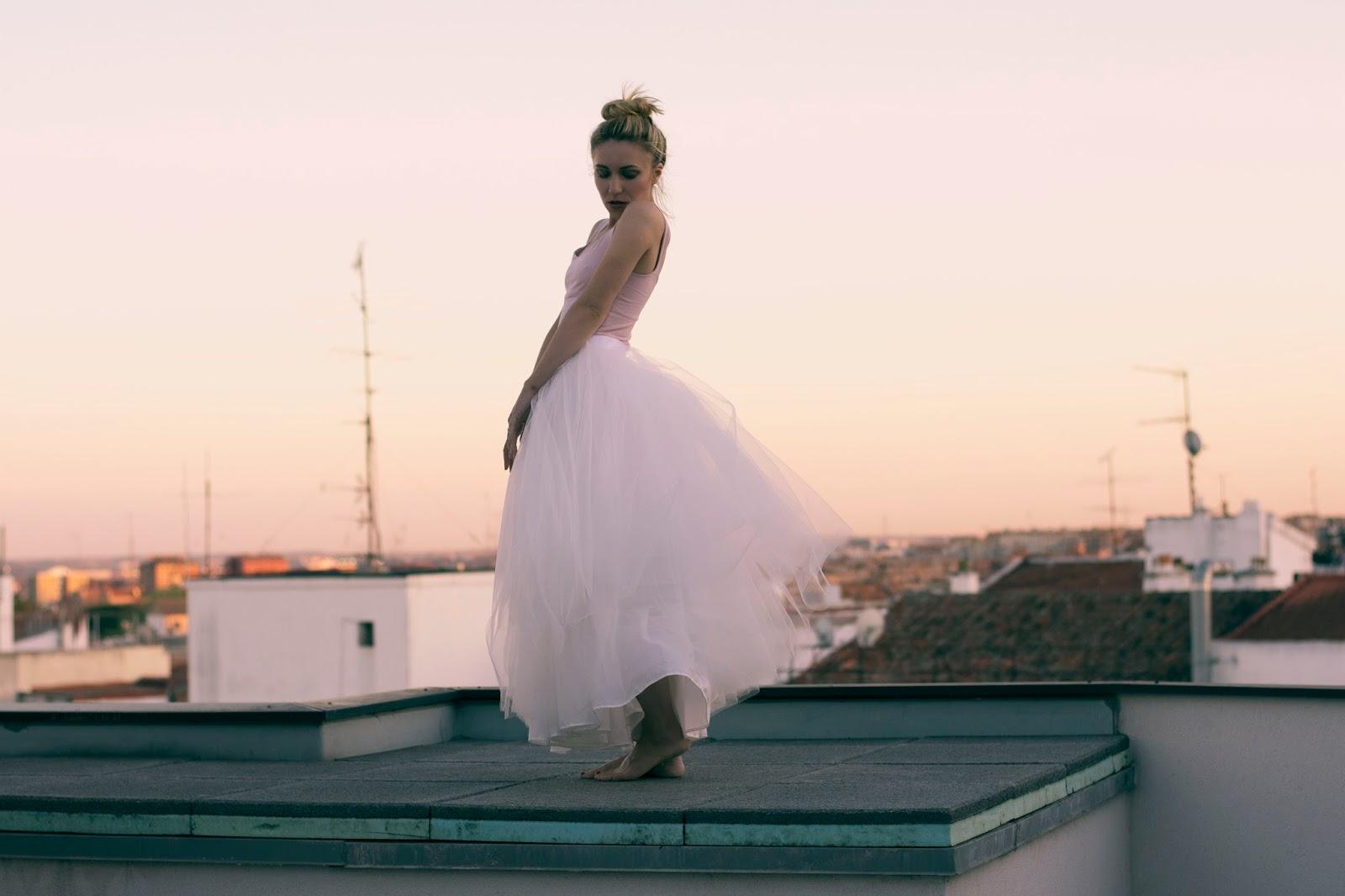 falda tul para boda