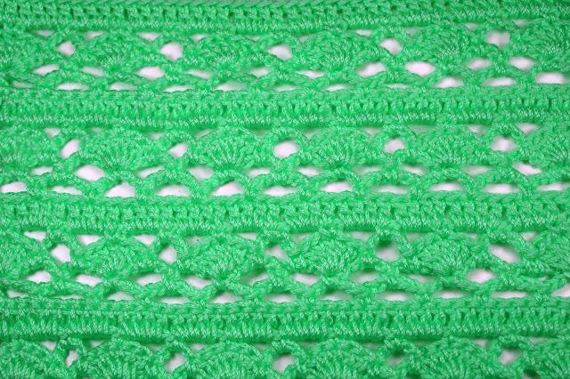 4 - Crochet Imagen Puntada combinada para jerseys a crochet y ganchillo por Majovel Crochet