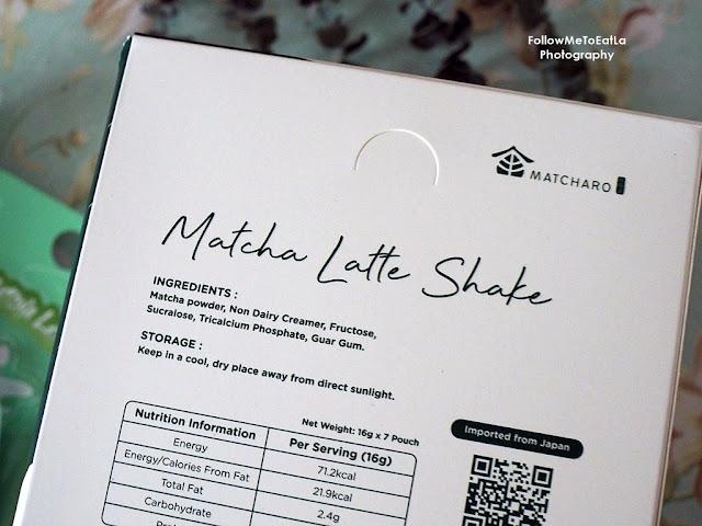 MATCHARO Matcha Latte Shake  New & Trendy Matcha on The Go Drink