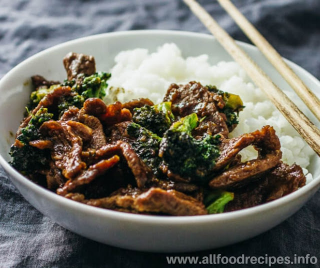 Recipes Beef With Broccoli