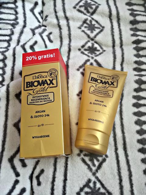 Biovax Gold Intensywnie regenerująca maseczka do włosów - recenzja