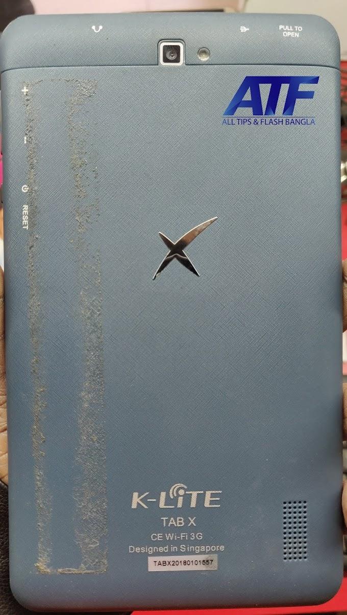 K-LITE TAB X FLASH FILE FIRMWARE (STOCK ROM)