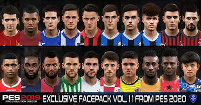 PES 2019 Exclusive Facepack Vol. 11 by Sofyan Andri
