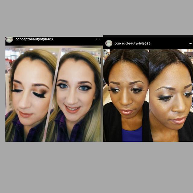 concept studio beauty fashion-eyelashes-eyeliner-Maplewood Mall PA