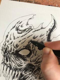 Ink Pen Inking