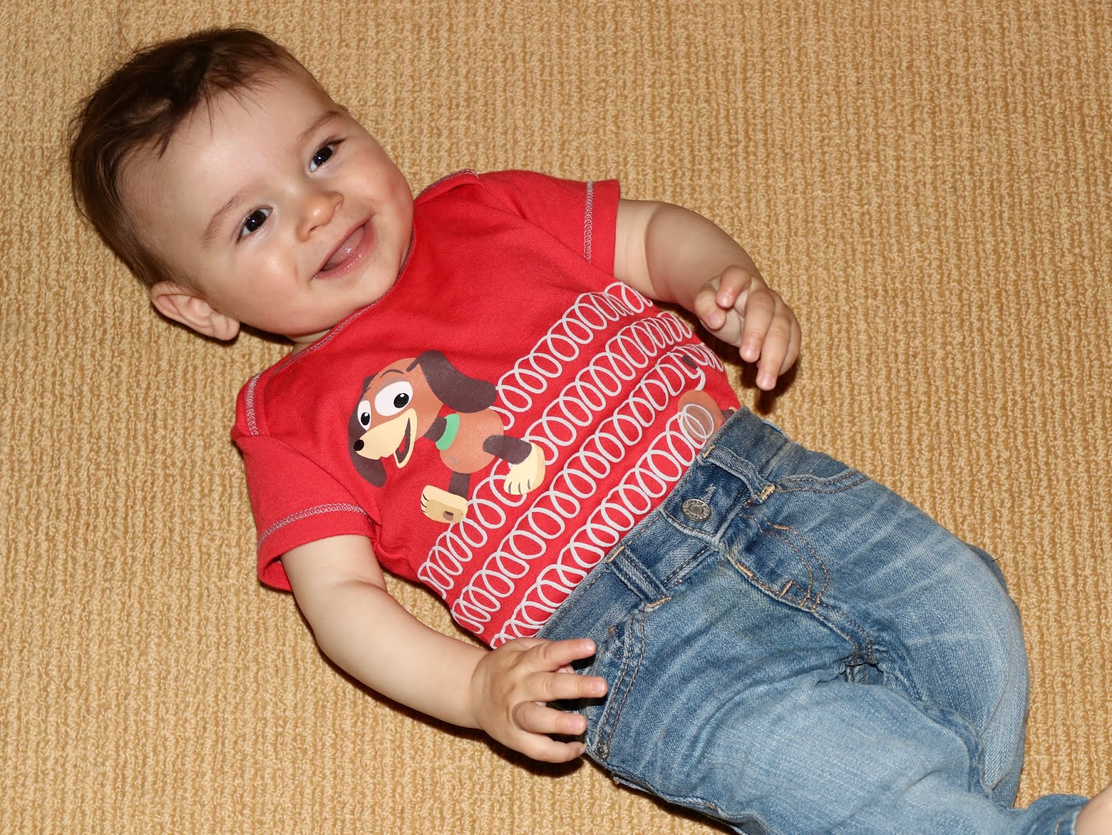 toy story slinky dog onesie bodysuit baby