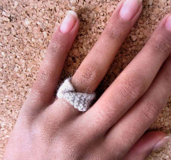 κοσμήματα, πλεχτά, δαχτυλίδια, χειροποίητο, φτιάξε, δώρο