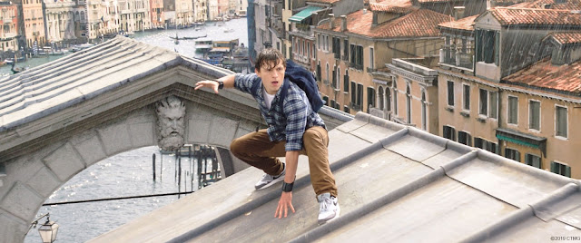 Spider-Man Peter Parker in Europe