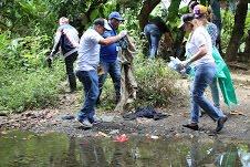 Procuraduría Medio Ambiente realiza operativo de limpieza de ríos y bosques en región norte