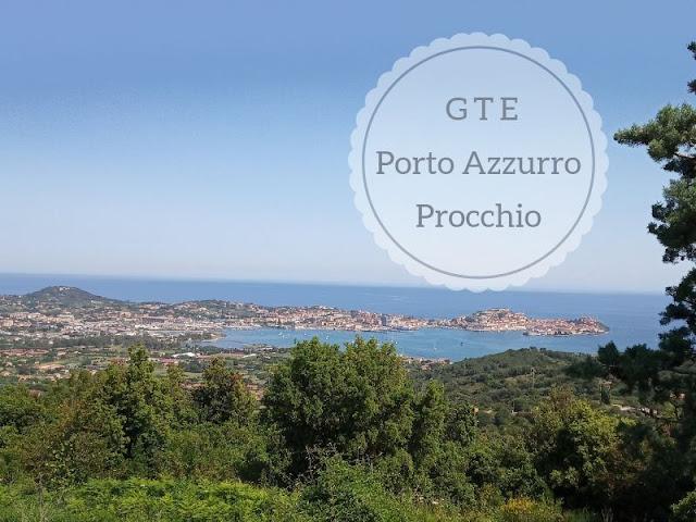 La seconda tappa della GTE da Porto Azzurro a Procchio: veduta di portoferraio