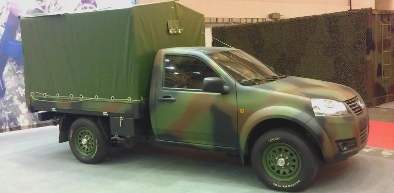 НГУ придбала 15 тентованих вантажівок на базі Great Wall H3