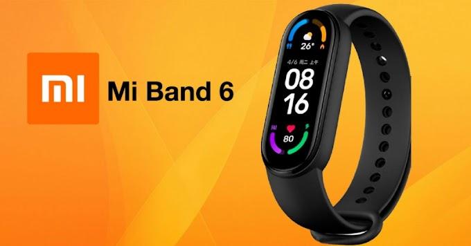Sorteio Xiaomi Mi Band 6