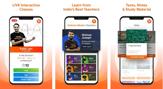 Vedantu app for PC