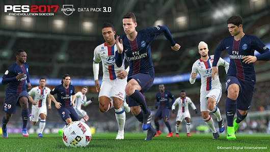 PES 2017 Data Pack 3.0 + Patch Update 1.04.00 Official Konami