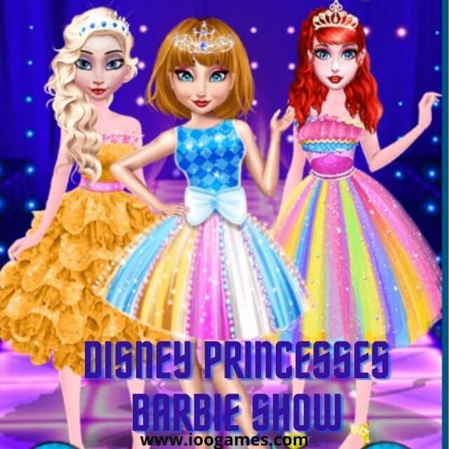 Disney Princesses Barbie Show Game