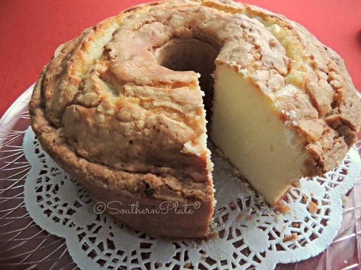 Crunchy Top Pound Cake