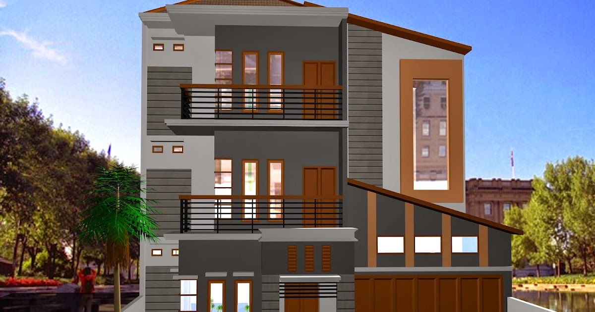 Kumpulan Model Rumah Minimalis 3 Lantai 2017  INFORMASI