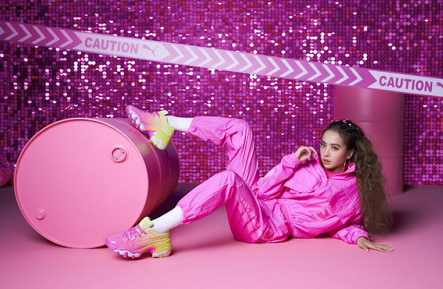 流行天后 Jolin 引領 PUMA Pretty Pink 粉紅風暴