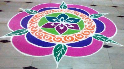 Pongal Festival Rangoli Design Image