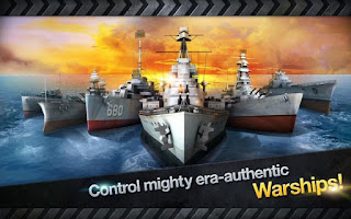 WARSHIP BATTLE : 3D World War II Apk v1.4.0 Mod Agustus 2016