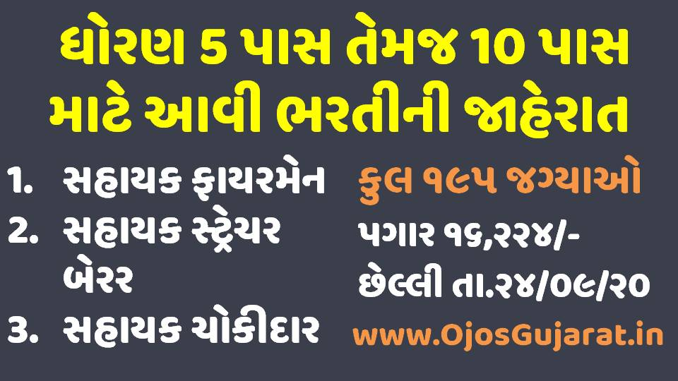 AMC Various Post Recruitment Notification Out For 195 Vacancies