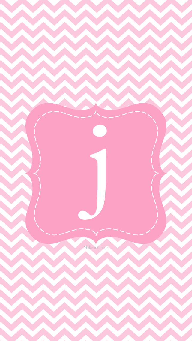 Make it...Create--Printables & Backgrounds/Wallpapers: iPhone 5 Chevron Initial