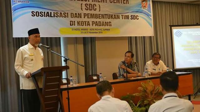 Kota Padang Jadi Pilot Projeck Program SDC