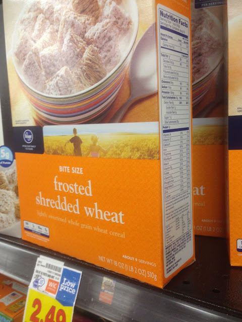 Frosted Shredded Wheat - Kroger